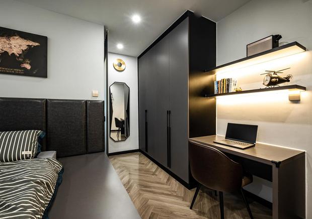 Căn hộ đập thông 140m2 thiết kế nội thất hiện đại, ấm cúng và hợp phong thủy: KTS khuyên cần chú ý điều này khi tân trang lại nội thất, nhà cửa  - Ảnh 13.