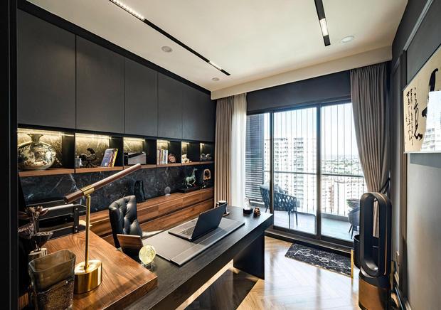 Căn hộ đập thông 140m2 thiết kế nội thất hiện đại, ấm cúng và hợp phong thủy: KTS khuyên cần chú ý điều này khi tân trang lại nội thất, nhà cửa  - Ảnh 6.