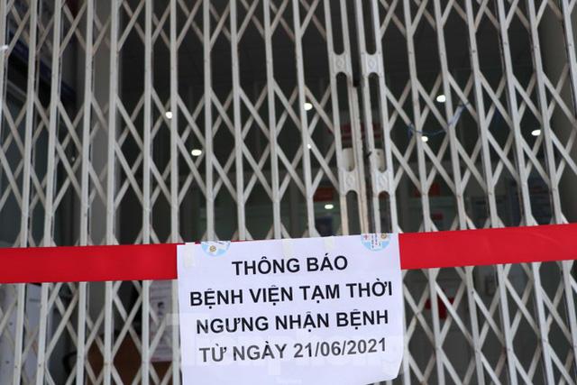 Bệnh viện đa khoa Sài Gòn tạm ngưng nhận bệnh nhân vì 5 ca F0 đến khám trong ngày  - Ảnh 2.