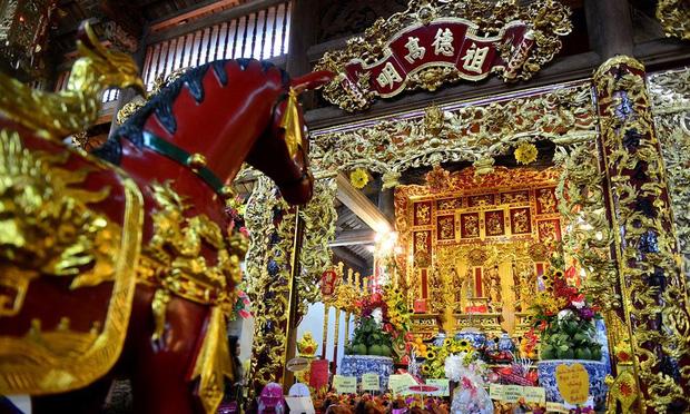 Toàn cảnh Nhà thờ Tổ 100 tỷ của NS Hoài Linh: Trải dài 7000m2, nội thất hoành tráng sơn son thếp vàng, nuôi động vật quý hiếm - Ảnh 14.