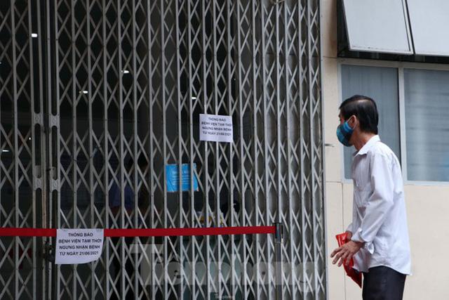 Bệnh viện đa khoa Sài Gòn tạm ngưng nhận bệnh nhân vì 5 ca F0 đến khám trong ngày  - Ảnh 3.