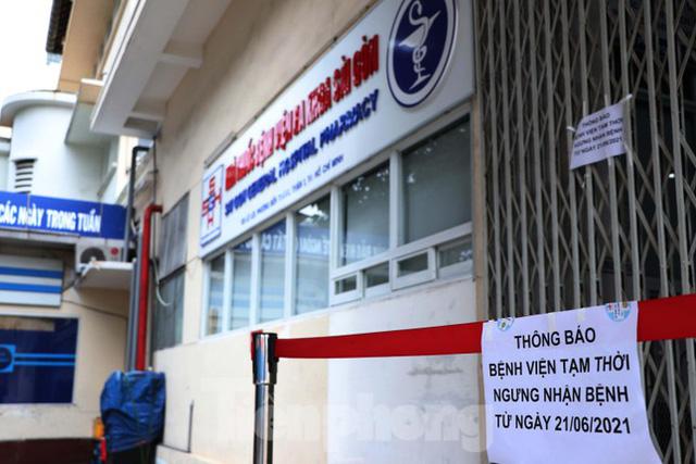 Bệnh viện đa khoa Sài Gòn tạm ngưng nhận bệnh nhân vì 5 ca F0 đến khám trong ngày  - Ảnh 6.