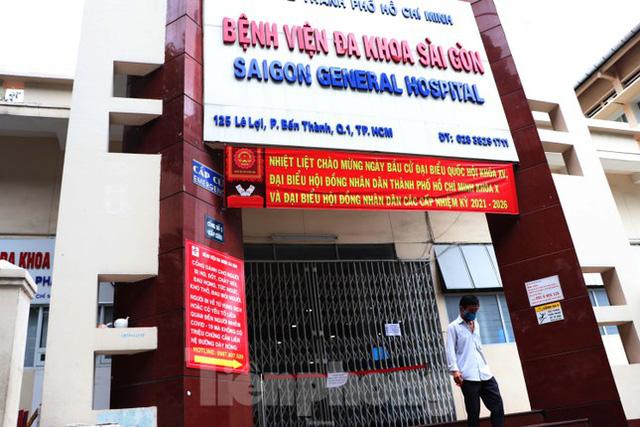 Bệnh viện đa khoa Sài Gòn tạm ngưng nhận bệnh nhân vì 5 ca F0 đến khám trong ngày  - Ảnh 7.