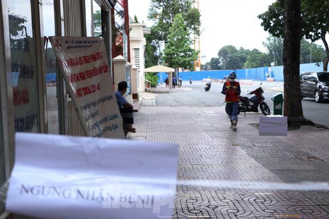 Bệnh viện đa khoa Sài Gòn tạm ngưng nhận bệnh nhân vì 5 ca F0 đến khám trong ngày  - Ảnh 8.