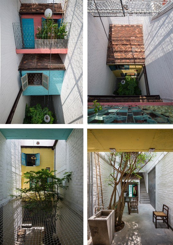 """Ngôi nhà """"nguỵ trang"""" độc đáo nhất Sài Gòn, bên ngoài xập xệ cũ nát nhưng bên trong lại là kiệt tác giữa lòng thành phố - Ảnh 5."""