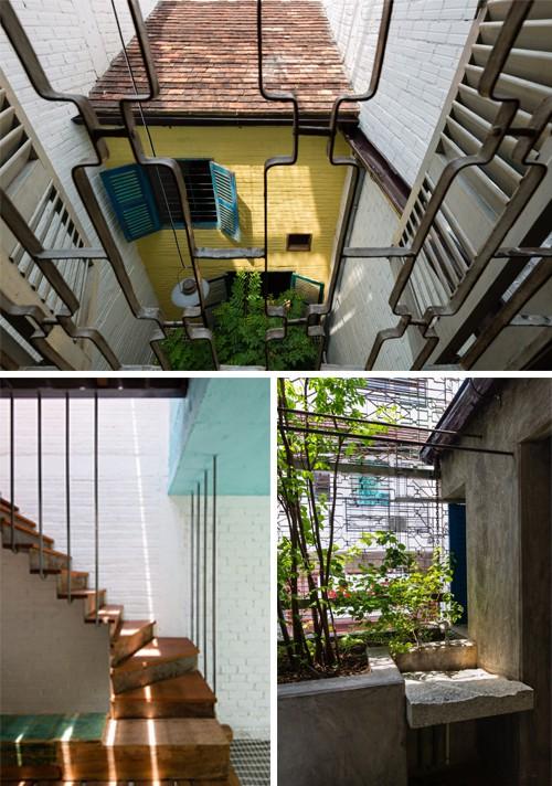 """Ngôi nhà """"nguỵ trang"""" độc đáo nhất Sài Gòn, bên ngoài xập xệ cũ nát nhưng bên trong lại là kiệt tác giữa lòng thành phố - Ảnh 6."""