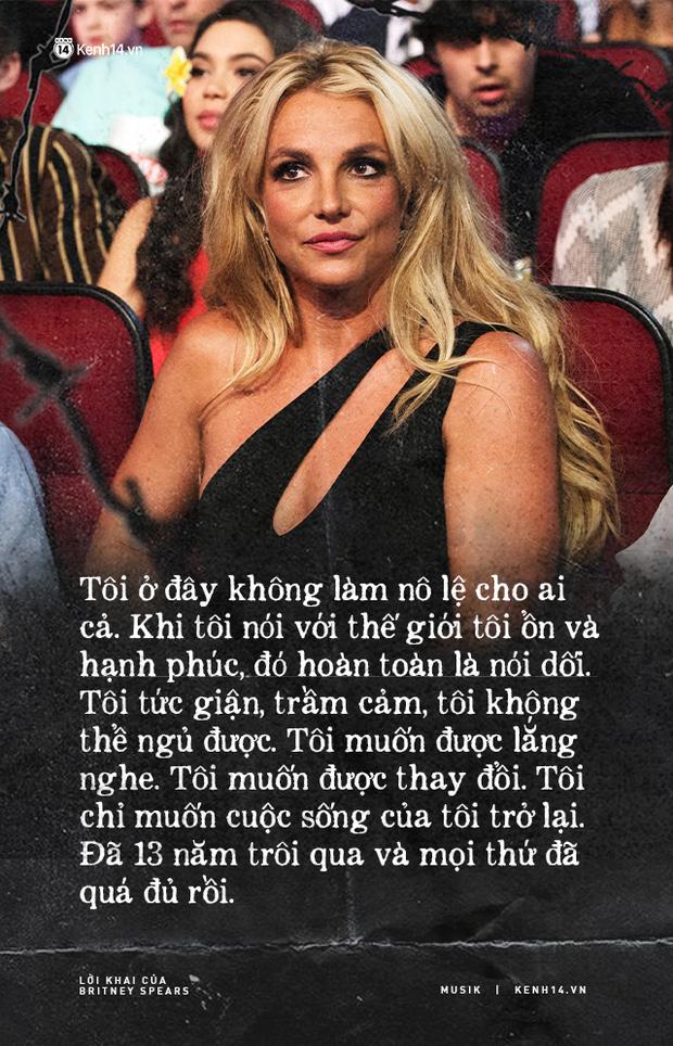 Cay đắng khi đọc trọn vẹn lời khai của Britney Spears trước toà về chính gia đình mình: Họ xem tôi như nô lệ. Tôi cảm thấy như mình đã chết - Ảnh 2.