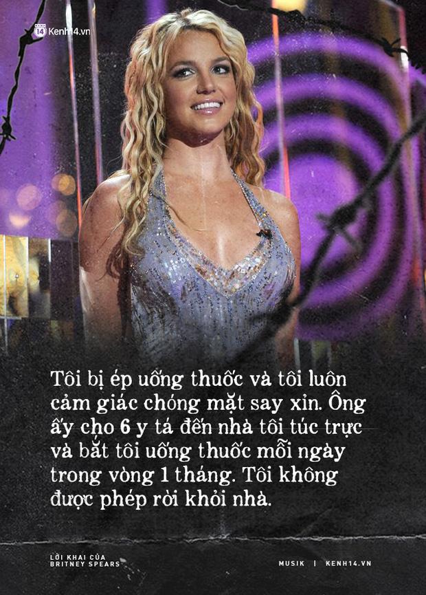 Cay đắng khi đọc trọn vẹn lời khai của Britney Spears trước toà về chính gia đình mình: Họ xem tôi như nô lệ. Tôi cảm thấy như mình đã chết - Ảnh 6.