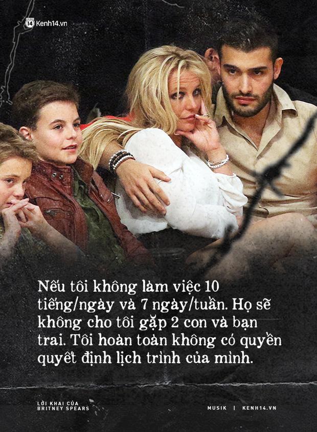 Cay đắng khi đọc trọn vẹn lời khai của Britney Spears trước toà về chính gia đình mình: Họ xem tôi như nô lệ. Tôi cảm thấy như mình đã chết - Ảnh 8.