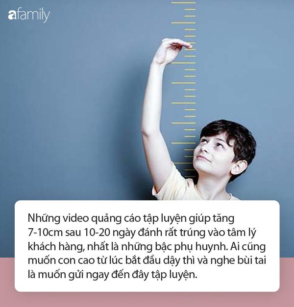 Bác sĩ quảng cáo bài tập giúp tăng 7-10cm sau tập 10-20 ngày: Chuyên gia nhận định thế nào? - Ảnh 5.