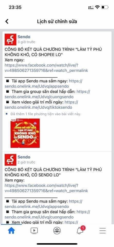 Marketing đi vào lòng đất: Nhân viên Sendo lỡ tay PR cho Shopee ngay trên fanpage! - Ảnh 2.