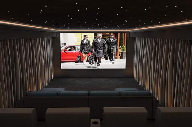 Thái Công thiết kế phòng chiếu phim tại gia siêu hoành tráng, nhưng có chi tiết khiến người sành sỏi thấy ngứa ngáy vô cùng - Ảnh 8.
