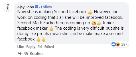 Mark Zuckerberg khoe con gái 5 tuổi học lập trình, cộng đồng mạng tấm tắc 'chắc cô bé sắp xây Facebook phiên bản thứ 2' - Ảnh 2.