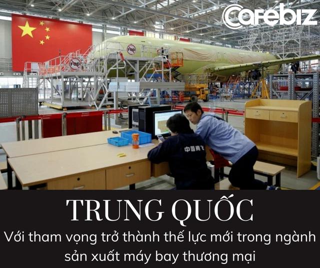 Tận dụng Airbus và Boeing đánh nhau, Trung Quốc âm thầm phát triển tàu bay made in China tham vọng trở thành thế lực mới trong ngành sản xuất máy bay thương mại - Ảnh 2.