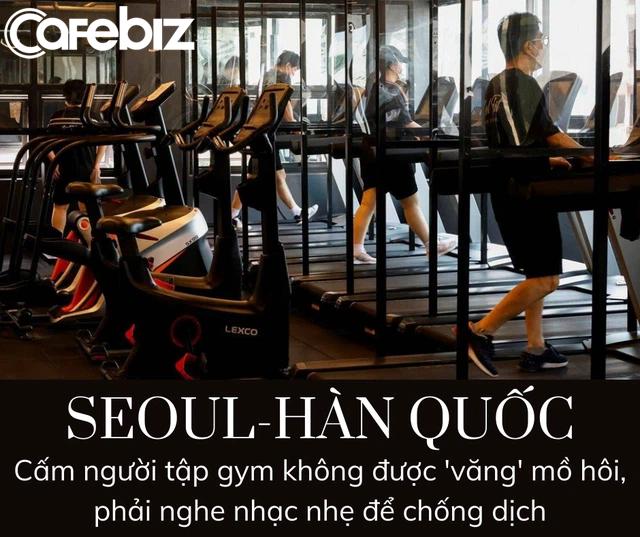 Hàn Quốc cho mở phòng gym nhưng cấm người tập văng mồ hôi, chỉ được nghe nhạc nhẹ - Ảnh 2.