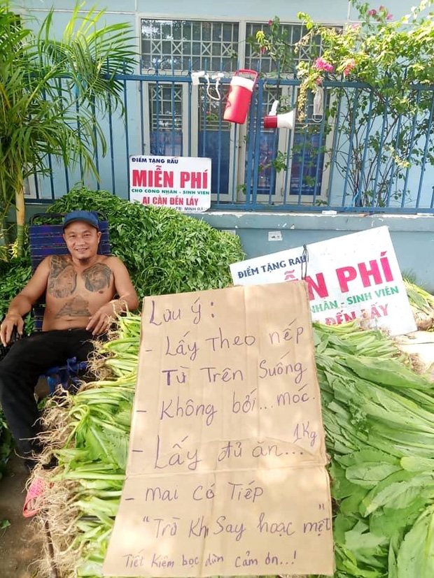 Anh bán rau khiến MXH dậy sóng: Rau muống đột biến 5 tỷ/bó nhưng sẵn sàng mang cho những người khó khăn - Ảnh 6.