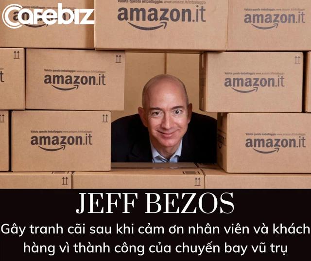 Bí mật đen tối đằng sau chuyến bay 5,5 tỷ USD vào vũ trụ nhờ nhân viên và khách hàng Amazon của Jeff Bezos - Ảnh 2.