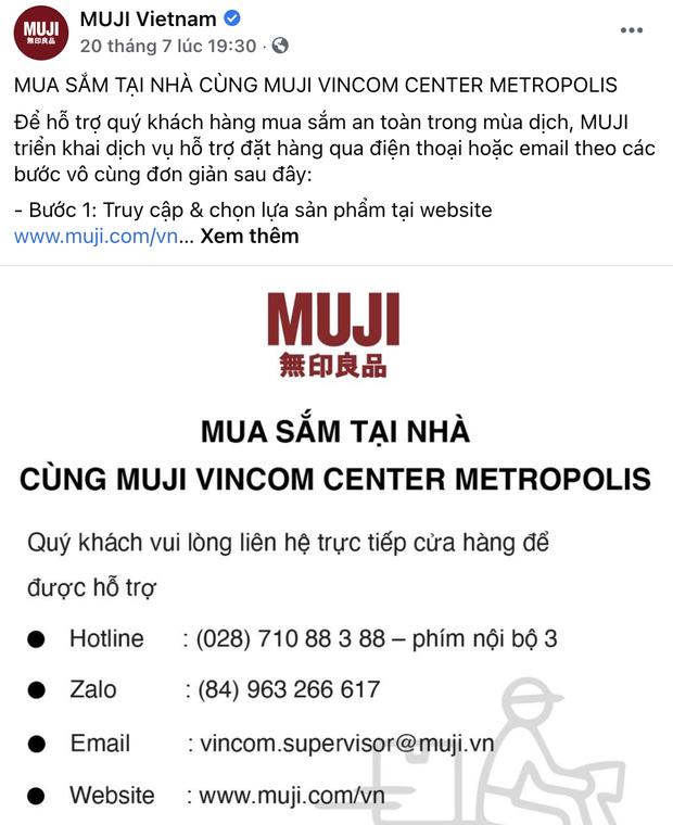 Hí hửng đặt hàng online tại MUJI và nhận về sự cồng kềnh: Khách phải... tự gọi ship, cửa hàng chỉ giúp đóng gói - Ảnh 1.