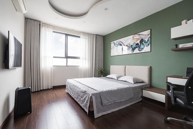 Căn hộ 120m² đẹp sang chảnh chẳng kém gì biệt thự tại Hà Nội  - Ảnh 15.