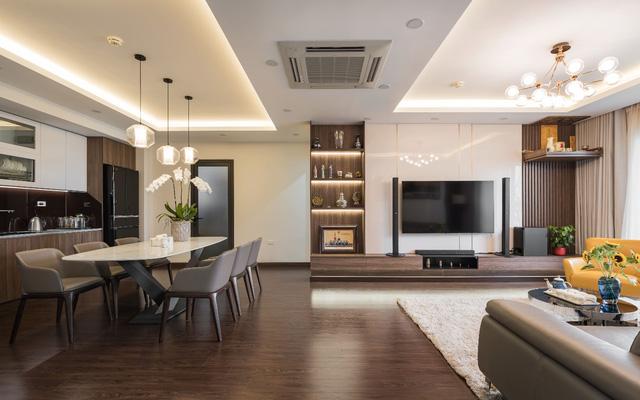 Căn hộ 120m² đẹp sang chảnh chẳng kém gì biệt thự tại Hà Nội  - Ảnh 5.