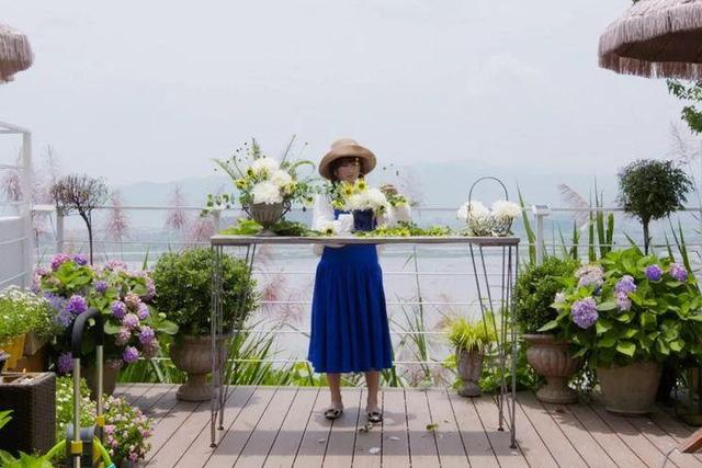 Người phụ nữ bỏ phố về quê để làm vườn hoa 1.500m2 tuyệt đẹp, ngày cao điểm hút 3.000 người đến thăm: Nửa đời người về sau, hãy dành cho chính mình  - Ảnh 6.