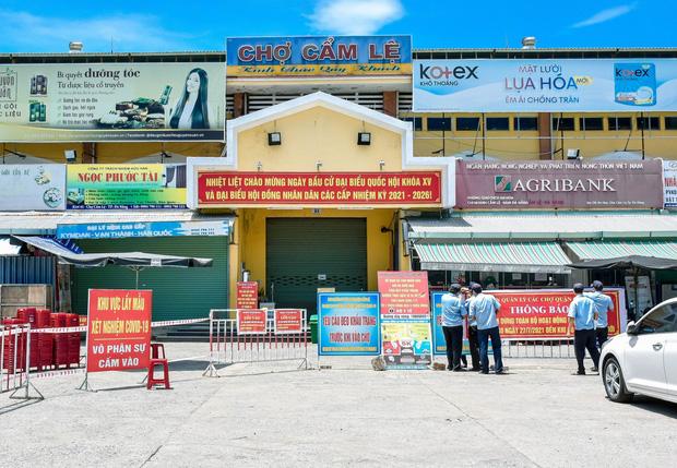 Đà Nẵng tìm người đến chợ tạm Hóa Sơn sau khi phát hiện tiểu thương bán cá nhiễm Covid-19 - Ảnh 2.