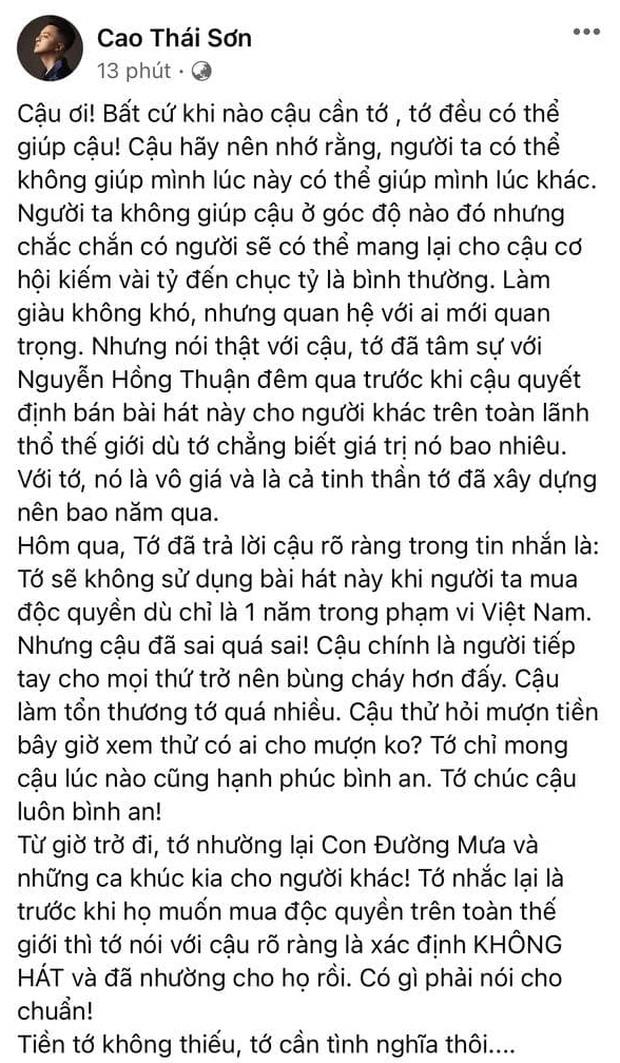 Phỏng vấn nóng Khắc Việt: Cao Thái Sơn là người sống không có tâm và lợi dụng mọi người - Ảnh 5.