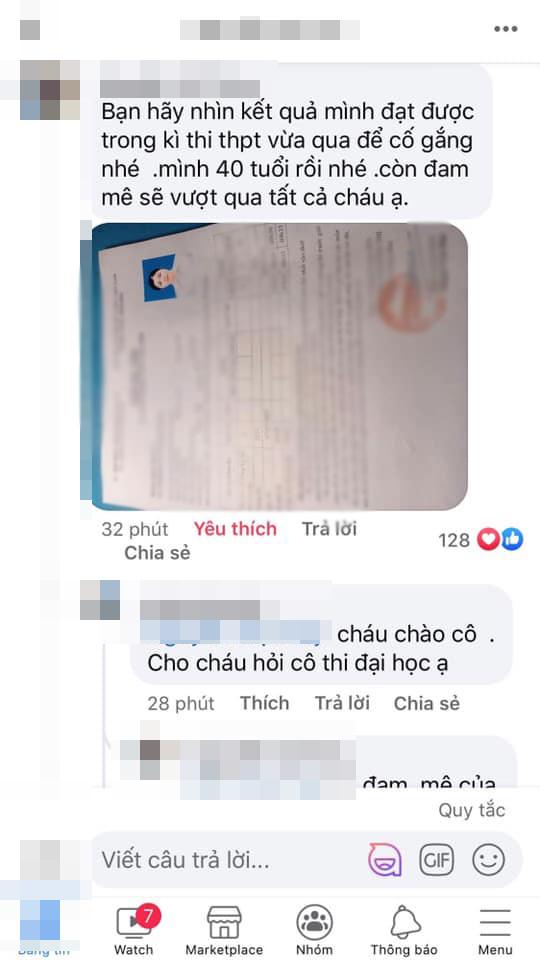 Chỉ ôn luyện trong 21 ngày, người phụ nữ Hà Nội 40 tuổi đạt 27 điểm thi ĐH - Ảnh 2.