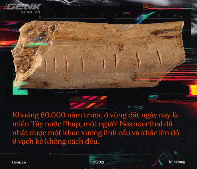 60.000 năm trước, một người Neanderthal vô danh đã đưa nhân loại bước vào kỷ nguyên số - Ảnh 1.