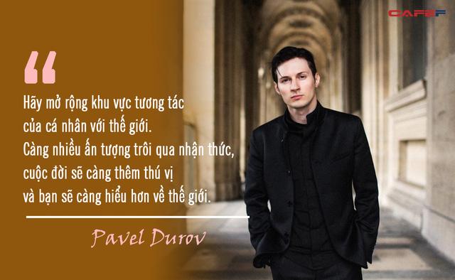 Tỷ phú Pavel Durov - người đứng sau ứng dụng Telegram bí ẩn nhất thế giới: Được công nhận là Zuckerberg của Nga, đạt thành công nhờ tinh thần kinh doanh cực độc đáo  - Ảnh 6.
