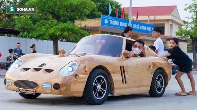 Thợ Việt làm siêu xe đắt nhất thế giới bằng gỗ cực chất, khiến báo ngoại trầm trồ  - Ảnh 2.