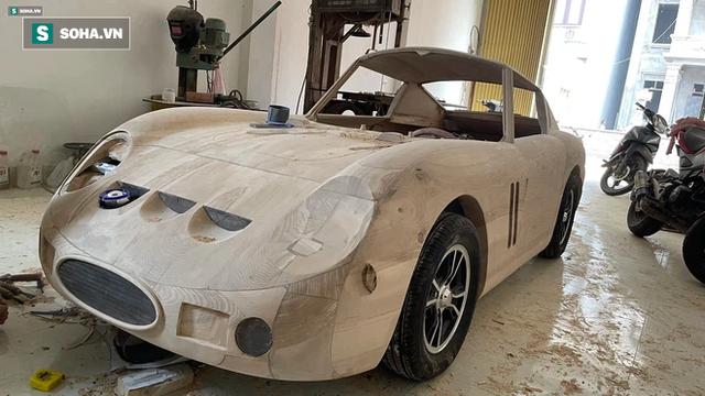 Thợ Việt làm siêu xe đắt nhất thế giới bằng gỗ cực chất, khiến báo ngoại trầm trồ  - Ảnh 4.