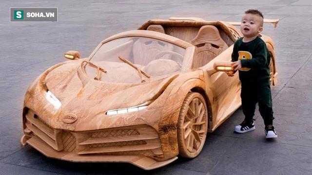 Thợ Việt làm siêu xe đắt nhất thế giới bằng gỗ cực chất, khiến báo ngoại trầm trồ  - Ảnh 5.