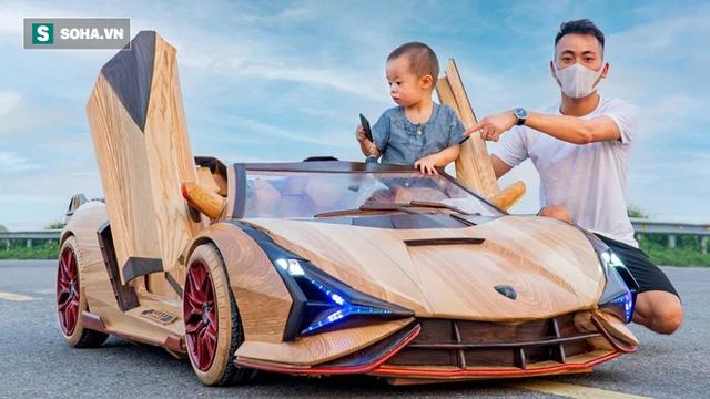 Thợ Việt làm siêu xe đắt nhất thế giới bằng gỗ cực chất, khiến báo ngoại trầm trồ  - Ảnh 6.