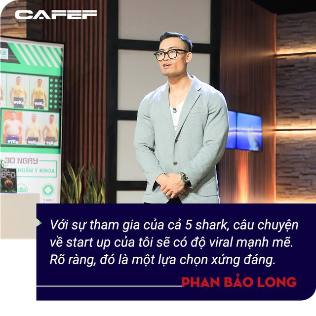 Phan Bảo Long - Kiện tướng thể hình gây bão Shark Tank: Tôi muốn xây dựng một chuỗi y học thể thao mạnh như rồng và dài khắp Việt Nam  - Ảnh 3.