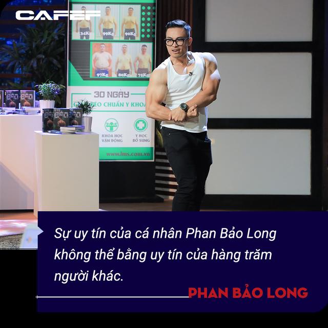 Phan Bảo Long - Kiện tướng thể hình gây bão Shark Tank: Tôi muốn xây dựng một chuỗi y học thể thao mạnh như rồng và dài khắp Việt Nam  - Ảnh 5.