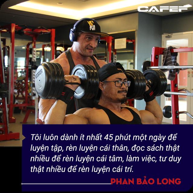 Phan Bảo Long - Kiện tướng thể hình gây bão Shark Tank: Tôi muốn xây dựng một chuỗi y học thể thao mạnh như rồng và dài khắp Việt Nam  - Ảnh 7.
