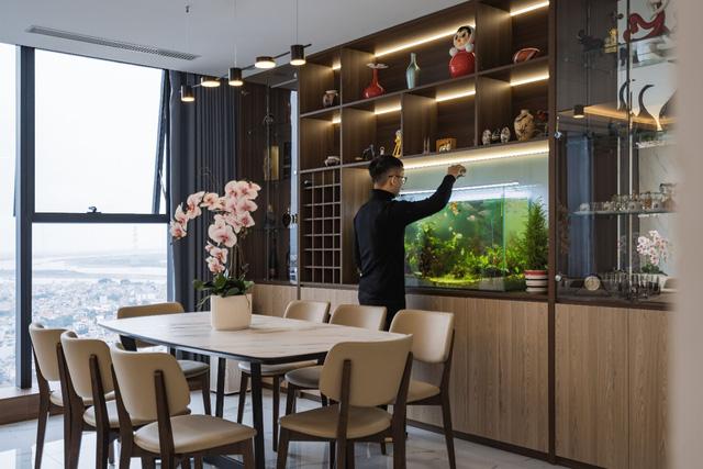 Khám phá căn hộ duplex sở hữu tầm view bao trọn sông Hồng trong khu nhà giàu bậc nhất Hà Nội  - Ảnh 3.
