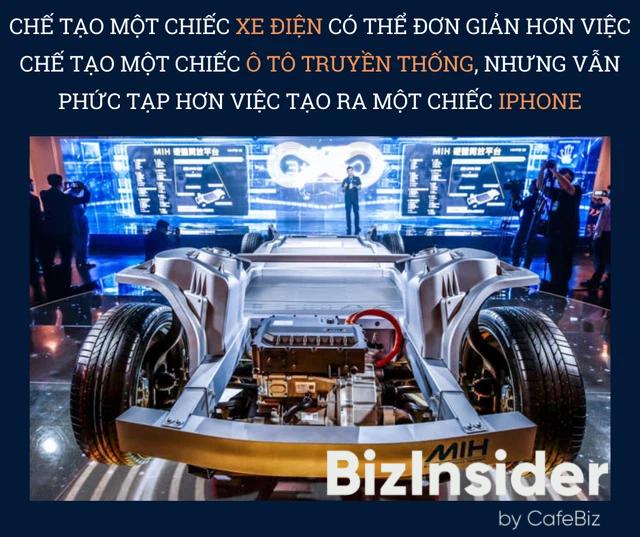 Giấc mơ iPhone 4 bánh của Foxconn: Nếu có thể sản xuất iPhone, tại sao không thể tạo ra được xe ô tô điện? - Ảnh 4.