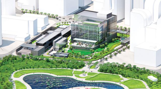 Quy mô khu phức hợp Đại sứ quán Mỹ 1,2 tỷ đô la ở Cầu Giấy, Hà Nội khủng cỡ nào?  - Ảnh 2.