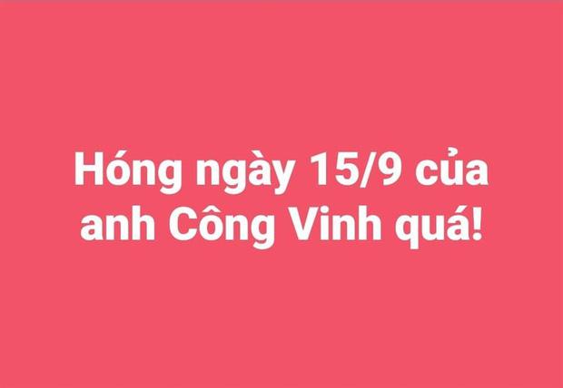 Netizen đặt lịch thông báo ngày 15/9, nhắc vợ chồng Công Vinh - Thuỷ Tiên đã đến hẹn sao kê tiền từ thiện - Ảnh 1.