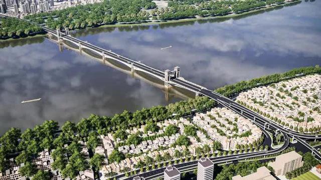 Cận cảnh phong cách Đông Dương cầu Trần Hưng Đạo gần 9.000 tỉ đồng - Ảnh 2.