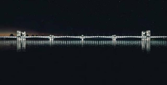 Cận cảnh phong cách Đông Dương cầu Trần Hưng Đạo gần 9.000 tỉ đồng - Ảnh 7.