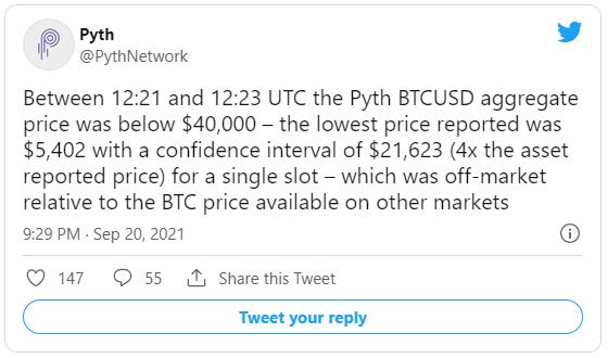 Máy tính mắc lỗi tính toán sơ đẳng, mạng dữ liệu làm giá Bitcoin sụp đổ xuống mức 5.400 USD - Ảnh 1.