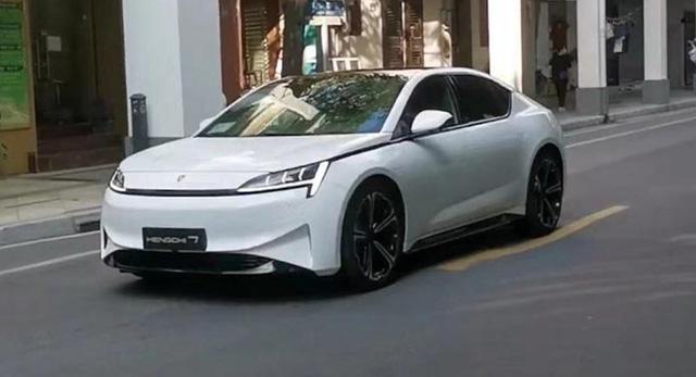 Đây là mẫu xe điện siêu chất của chúa nợ Evergrande: Đẹp như xe sang nhưng chưa rõ số phận ra sao  - Ảnh 1.