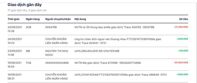 Ngân hàng MB bắt trend, mở tài khoản riêng cho người làm từ thiện, ai cũng có thể vào xem sao kê online  - Ảnh 2.