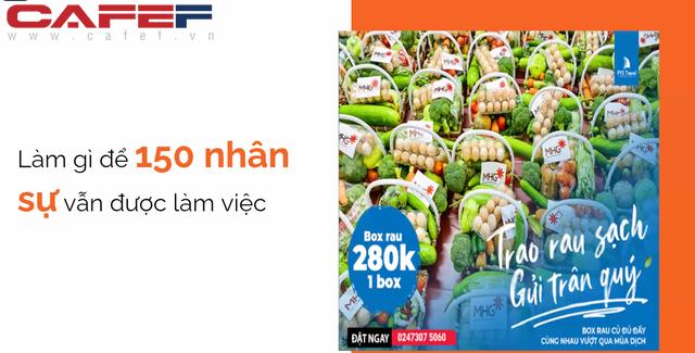 PYS Travel: Doanh thu hơn 250 tỷ/năm về 0 sau 3 đợt bùng phát dịch, cả công ty đi bán rau, kỳ vọng mở 20-30 điểm bán thực phẩm trong năm 2022  - Ảnh 1.
