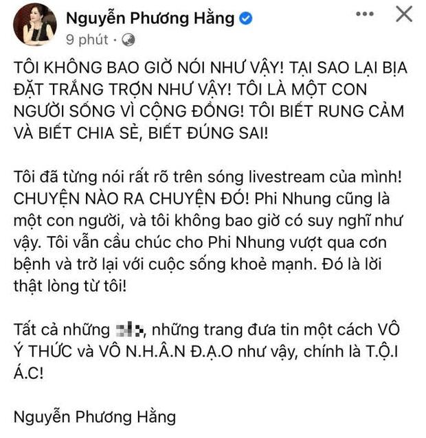 CEO Đại Nam chính thức lên tiếng làm rõ tin đồn thoá mạ, trù ẻo Phi Nhung không qua khỏi - Ảnh 1.