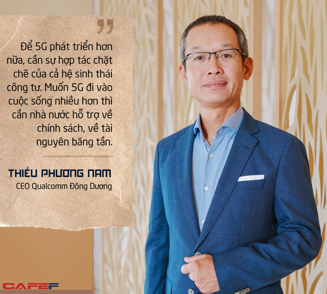CEO Qualcomm Đông Dương: 'Tốc độ 5G kỷ lục tại Viettel Innovation Lab là bước tiến rất quan trọng trong thương mại hoá dịch vụ 5G Việt Nam'  - Ảnh 8.
