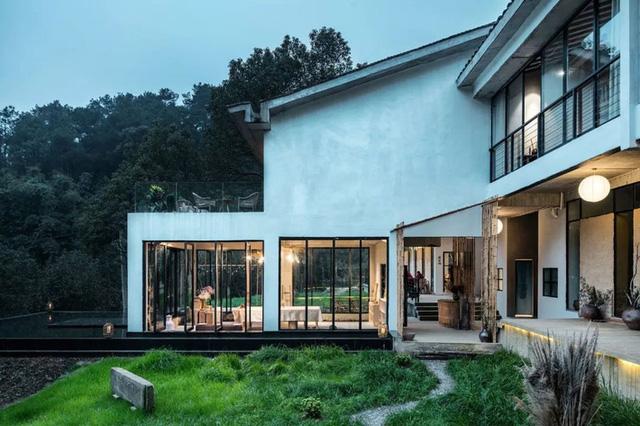 Ngôi nhà vườn khiến ai cũng trầm trồ của nữ biên tập viên rời phố, cùng chồng và bố mẹ về quê sống cuộc đời an nhàn  - Ảnh 11.